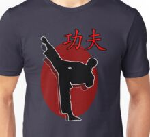Shaolin Warrior, Kung Fu Unisex T-Shirt