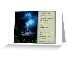 Unimaginable Ways - A Calmness Greeting Card