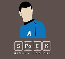 Highly Logical Spock Unisex T-Shirt