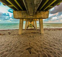 Venice Florida Fishing Pier next to Sharky's by Steve Case