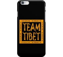 Team Tibet iPhone Case/Skin