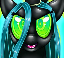 Queen Chrysalis by farorenightclaw