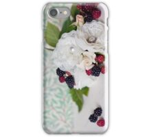 Blackberry Bouquet iPhone Case/Skin