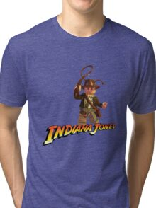 Indiana Jones - Lego version Tri-blend T-Shirt