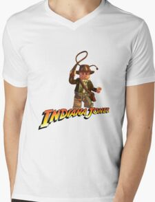Indiana Jones - Lego version Mens V-Neck T-Shirt