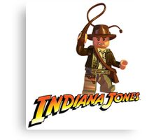 Indiana Jones - Lego version Canvas Print