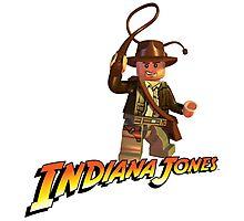 Indiana Jones - Lego version Photographic Print