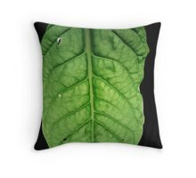 Bright Leaf Throw Pillow