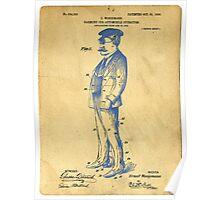 Garment for Automobile Operators Patent Poster