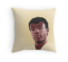 In Troy We Trust Throw Pillow