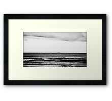 Distant Skyline Framed Print