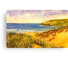 Crantock Cornwall Canvas Print