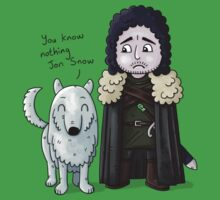 Jon Snow Kids Clothes