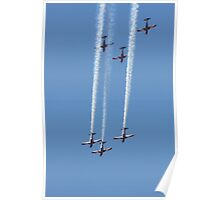 2013 Clipsal 500 Day 4 - RAAF Roulettes Poster