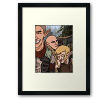 Inquisition Elf Selfie Framed Print