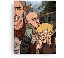Inquisition Elf Selfie Canvas Print