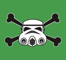 Star Wars Storm Trooper and Cross Bones One Piece - Short Sleeve