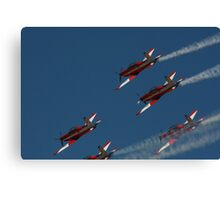 2013 Clipsal 500 Day 4 - RAAF Roulettes Canvas Print