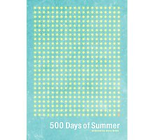 """500 Days of Summer""-minimalist poster design Photographic Print"