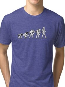 The Evolution of Nintendo Tri-blend T-Shirt