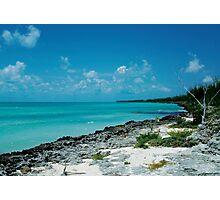 Bahamas Blues Photographic Print