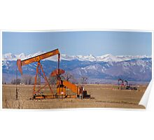 Colorado Oil Well Panorama Poster