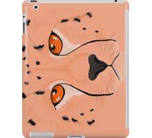 Cheetah peach iPad Case/Skin