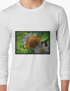 Orange Summer Long Sleeve T-Shirt