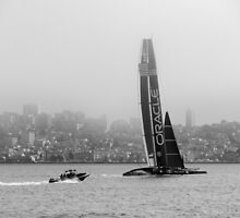Oracle Team USA in BW by Kasia-D