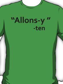 David Tennant Quote T-Shirt