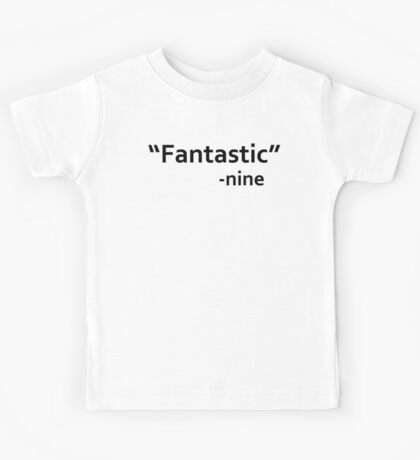 dr who quote Kids Tee