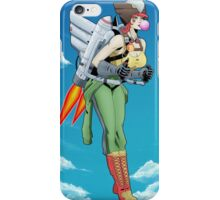 Bombshell Hawkgirl iPhone Case/Skin
