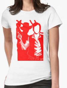 Han Solo - Indiana Jones Womens Fitted T-Shirt