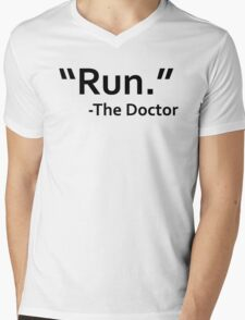 dr who quote Mens V-Neck T-Shirt