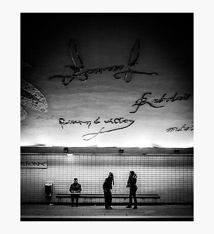 Paris Signature Series Metro 1/15 Photographic Print