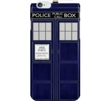 TARDIS color large version iPhone Case/Skin