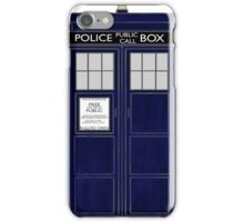 TARDIS color large version iPhone Case/Skin