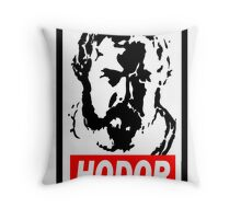 Obey Hordor Throw Pillow