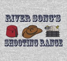 Dr. Who River Song's shooting range One Piece - Long Sleeve
