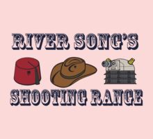Dr. Who River Song's shooting range Kids Clothes