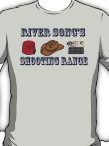 Dr. Who River Song's shooting range T-Shirt