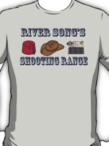 Dr. Who River Song's shooting range T-Shirt