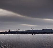 Lake Fyans by joannegrist89