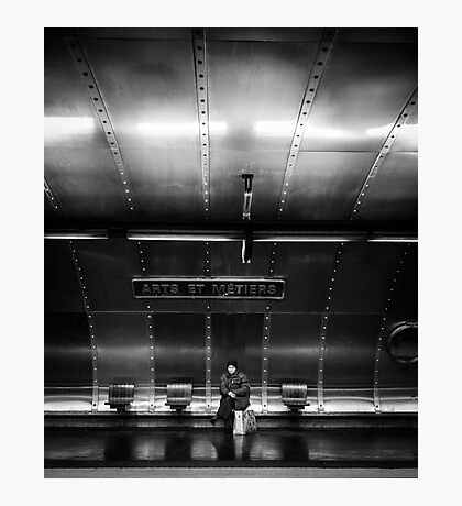 Paris Signature Series Metro 7/15 Photographic Print