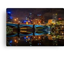 Reflective City Canvas Print
