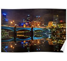 Reflective City Poster