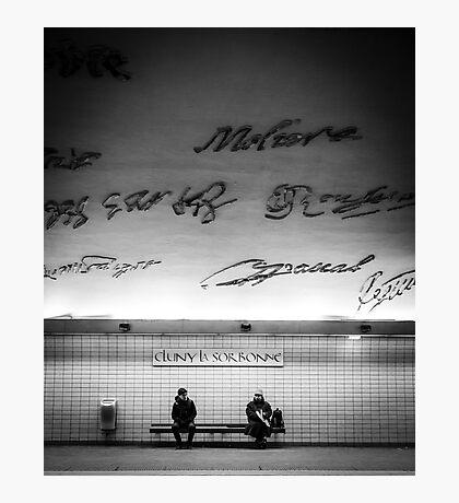Paris Signature Series Metro 8/15 Photographic Print