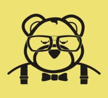 Nerd Bear (for light clothes) by Bob Buel