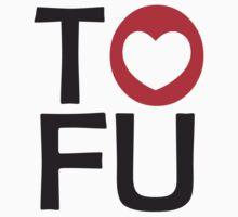 I LOVE TOFU - TYPOGRAPHY by thischarmingfan