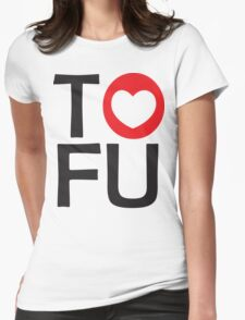 I LOVE TOFU - TYPOGRAPHY T-Shirt